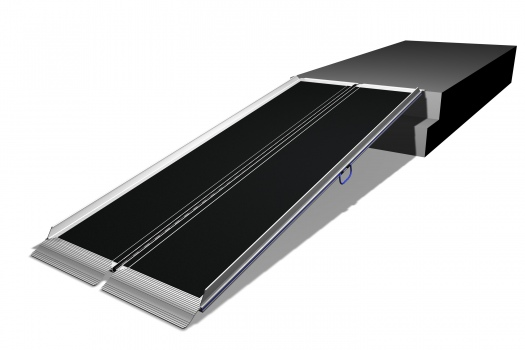 """<a href=""""http://www.wheelchairrampslifts.com/advice/what-to-look-for-in-roll-up-ramps-12.html""""><b>Roll Up Ramps and Their Benefits</b></a><p>Roll up ramps provide users with a few added bonuses when compared to other types of wheelchair or scooter ramps. These ramps do cost a bit more, but that is made up for with increased ease  of use and overall versatility. </p>"""