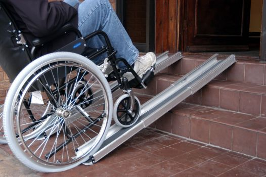 """<a href=""""http://www.wheelchairrampslifts.com/advice/are-telescopic-ramps-right-for-you-17.html""""><b>Are Telescopic Ramps Right for You?</b></a><p>Telescopic ramps are an option for many, but not all, wheelchair and scooter users. Telescopic ramps feature two thinner ramps that sit next to each other. </p>"""